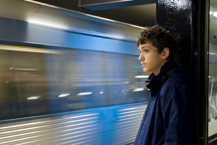 Jongen metro