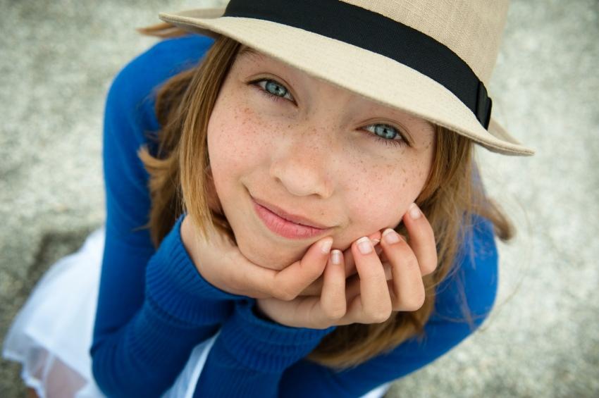 Meisje hoed